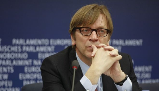 Press conference on the situation in Libya and the opposition government by ALDE group leader Guy Verhofstadt and Dr. Mahmoud Jebril, member of the Libyan opposition