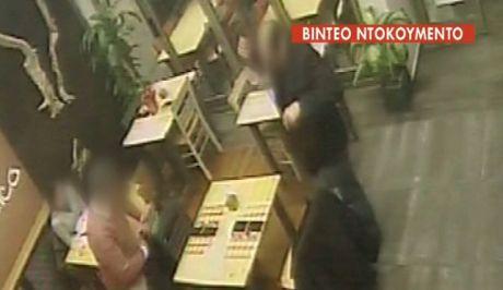 Βίντεο ντοκουμέντο: Η στιγμή της κλοπής πορτοφολιού σε πιτσαρία της Θεσσαλονίκης