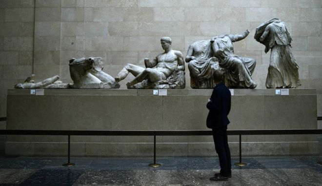 Tα γλυπτά του Παρθενώνα εκτίθενται στο Βρετανικό Μουσείο