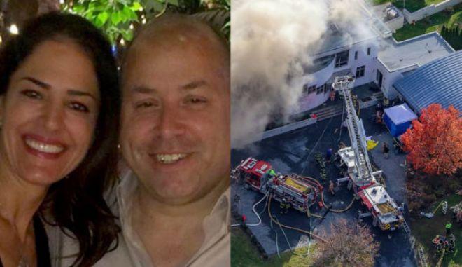Φρίκη στις ΗΠΑ: Σκότωσαν και έκαψαν οικογένεια Ελληνίδας στην έπαυλή της