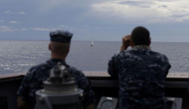 Αμερικανικό πολεμικό ναυτικό (φωτογραφία αρχείου)