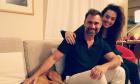 Ο Γιώργος Καπουτζίδης και η Μαρία Κοζάκου