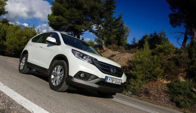 Honda CRV 1.6 i-DTEC. Ισορροπία επιδόσεων, οικονομίας, ασφάλειας και λειτουργικότητας