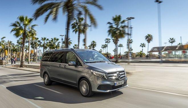 Η νέα Mercedes-Benz V-Class