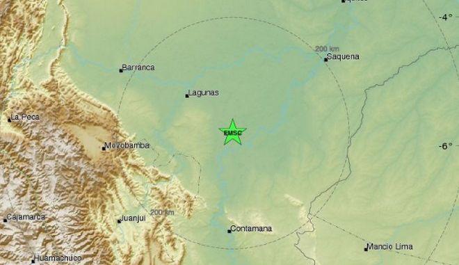 Ισχυρός σεισμός 7,5 Ρίχτερ στο Περού