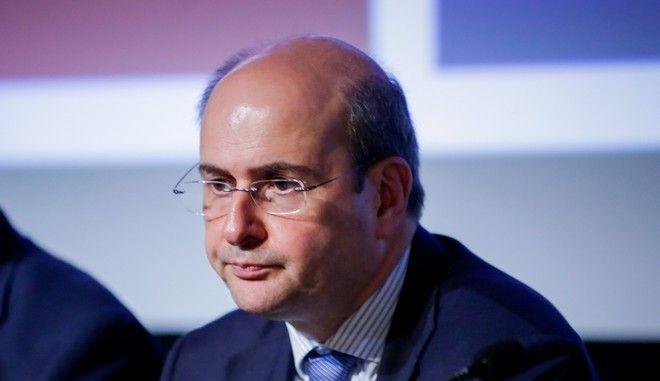 Ο αντιπρόεδρος της Νέας Δημοκρατίας Κωστής Χατζηδάκης σε παρουσίαση βιβλίου