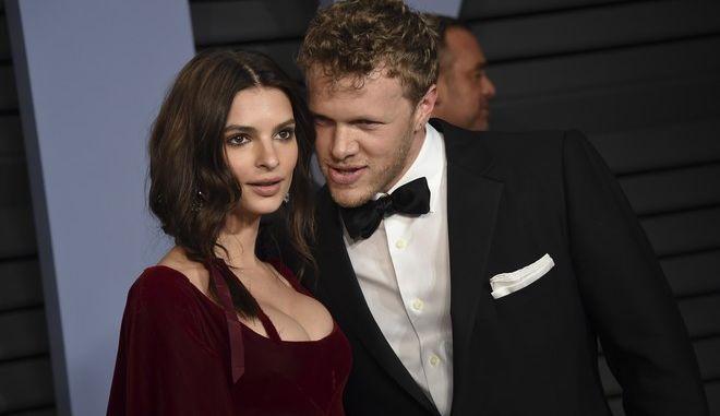Η Emily Ratajkowski και ο σύζυγός της Sebastian Bear-McClard