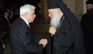 Τιμητική διάκριση στον Προκόπη Παυλόπουλο από την Εκκλησία της Ελλάδος