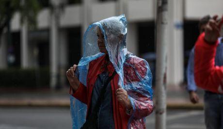 Κακοκαιρία στην Αττική - Βροχή στην Αθήνα