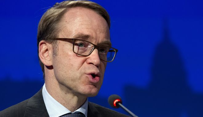 Ο πρόεδρος της Bundesbank Γενς Βάιντμαν