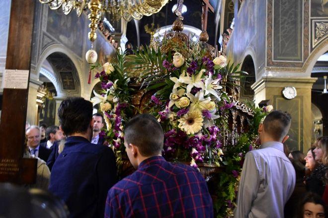 Τελετή της Αποκαθήλωσης του Εσταυρωμένου στον Ιερό Ναό του Αγίου Πέτρου στο Άργος, την Μεγάλη Παρασκευή (Eurokinissi-ΠΑΠΑΔΟΠΟΥΛΟΣ ΒΑΣΙΛΗΣ)