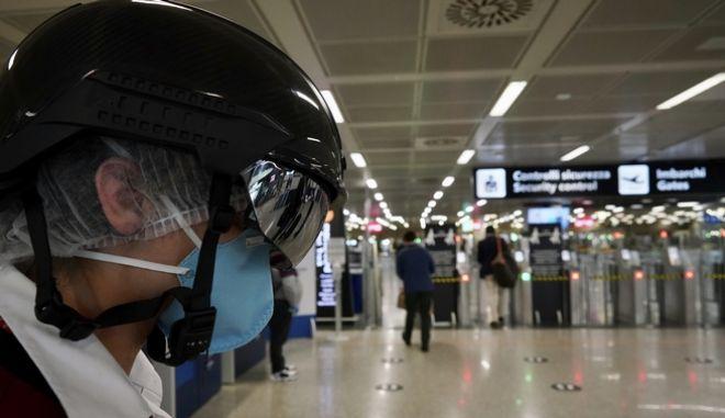 Μέτρα ασφαλείας σε αεροδρόμιο
