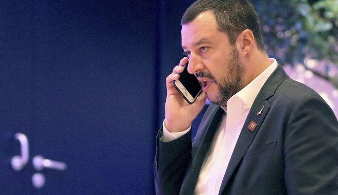 O Iταλός Υπουργός Εσωτερικών Ματέο Σαλβίνι