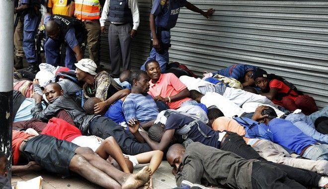 Συλλήψεις στη Νότια Αφρική