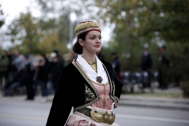 Military parade commemorating Greece's entry into World War II has been held in Thessaloniki, Greece on October 28, 2017. October 28 is a national holiday in Greece, marking the anniversary of the country's refusal of a 1940 ultimatum made by Italy's Fascist leader Benito Mussolini to allow his forces to enter and occupy Greek territory. /                    28     28  2017.