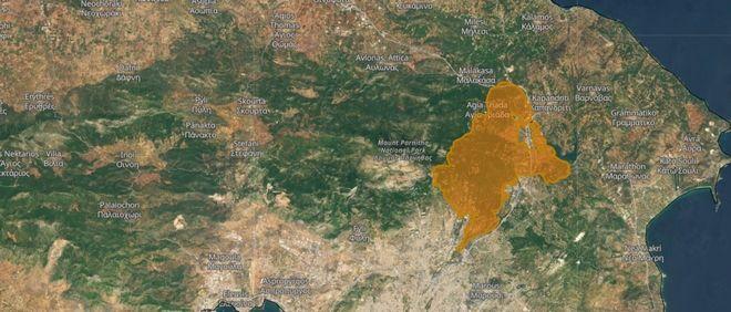 Χάρτες θλίψης: Περισσότερα από 650.000 στρέμματα οι καμένες εκτάσεις