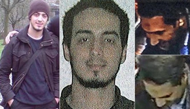 epa05224533 A handout picture provided by the Belgium Federal Police on 21 March 2016, shows Najim Laachraoui, one of the suspects of the Paris terrorist attacks, on November 13th, 2015. Najim Laachraoui, formerly thought to be named Soufiane Kayal, has been identified as an accomplice of Salah Abdeslam, and was said to be using a fake Belgian Identity card by the name of Kayal, during the Paris attacks.  EPA/BELGIUM FEDERAL POLICE/HANDOUT  HANDOUT EDITORIAL USE ONLY/NO SALES