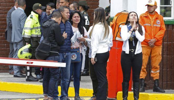 Θρήνος για τα θύματα της επίθεσης στην Μπογκοτά