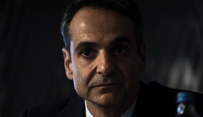 Presentation of the new book by Panagiotis Liargovas and Christos Papageorgiou entitled `The European Phenomenon - The Unification and Efforts to Implement the Idea`, with central speakers the Governor of the Bank of Greece, Giannis Stournaras, the President of New Democracy Kyriakos Mitsotakis and the leader of To Potami movement, Stavros Theodorakis, Hotel Caravel, in Athens, Greece on October 16, 2017. /             `   -        `           ,                ,  Caravel, , 16  2017.
