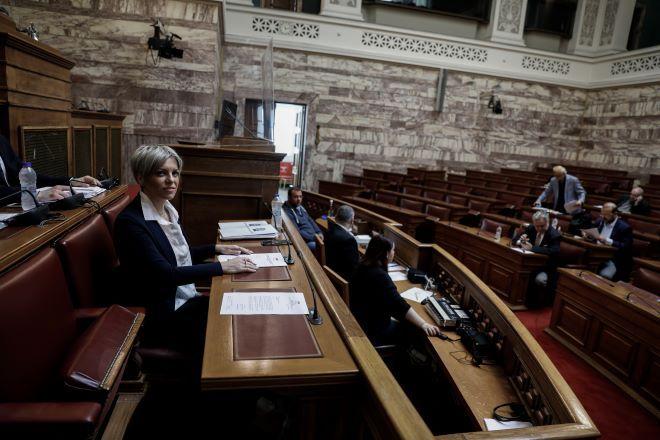 Η Σοφία Νικολάου στην Βουλή