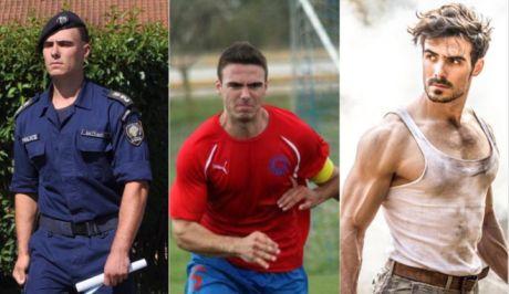 O Αξιωματικός της Ελληνικής Αστυνομίας Νταβίντ Καϊτίδης ο οποίος δοκιμάζει την τύχη του στο Χόλιγουντ ως David Kait