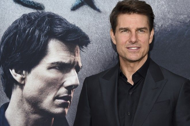 """Actor Tom Cruise attends a special screening of """"The Mummy"""" at AMC Loews Lincoln Square on Tuesday, June 6, 2017, in New York. (Photo by Evan Agostini/Invision/AP)"""