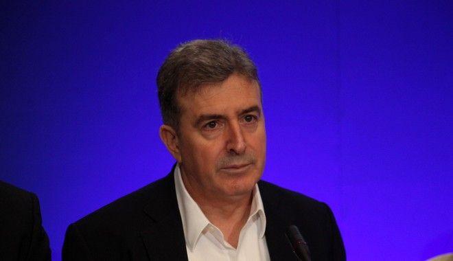 Ο Μιχάλης Χρυσοχοΐδης τον Δεκέμβριο του 2014 ως υπουργός Μεταφορών