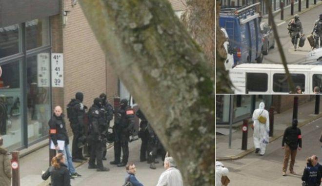 Αστυνομική επιχείρηση στην περιοχή Etterbeek των Βρυξελλών