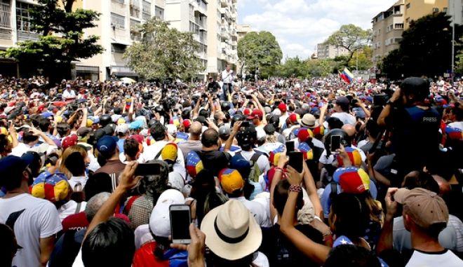 Συγκέντρωση της αντιπολίτευσης το Σάββατο στο Καράκας