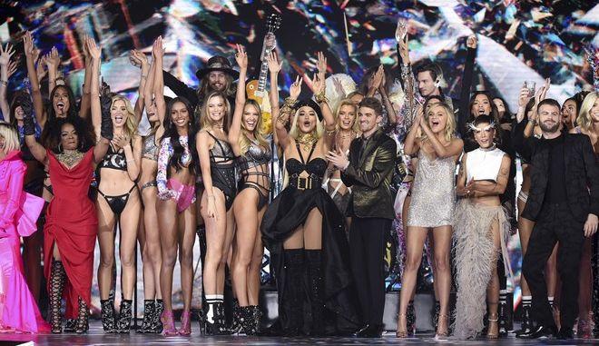 Show της Victoria's Secret τον Νοέμβριο του 2018 στη Νέα Υόρκη