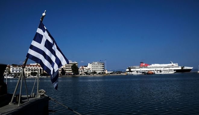 Snapshots from Mytilene, Greece on August, 2017. Mytilene is the capital and port of the island of Lesbos and also the capital of the North Aegean Region, August 2017 /       2017.
