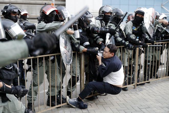 Αντι-κυβερνητικές διαδηλώσεις στο Χονγκ Κονγκ