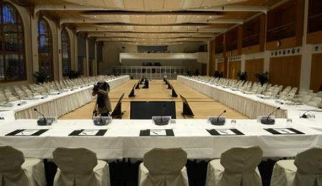 Άρχισαν οι εργασίες της ειρηνευτικής διάσκεψης στο Μοντρέ της Ελβετίας