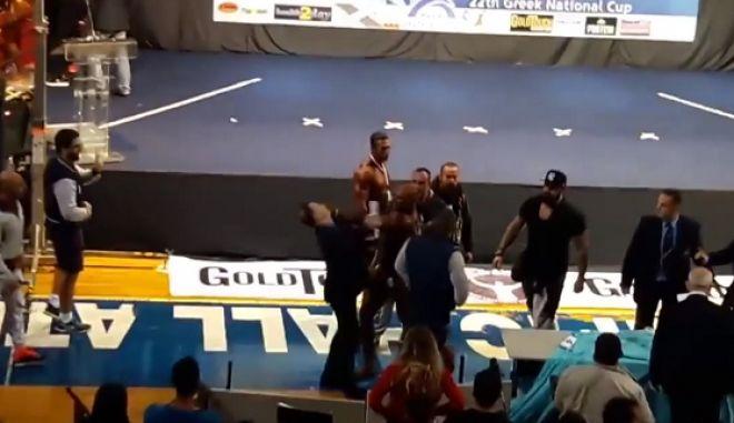 Έλληνας bodybuilder δέρνει κριτή επειδή βγήκε δεύτερος