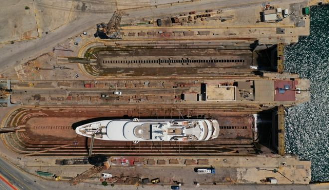"Pyletech Shipyards: Ενδιαφέρον και πάλι για τα Ναυπηγεία Σκαραμαγκά - Καρφιά για την ""επενδυτική"" ατζέντα της κυβέρνησης"