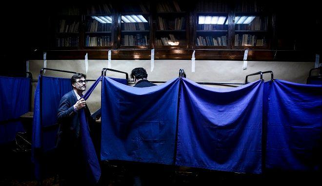 Εκλογές 2019: Κάλπες φωτό αρχείου