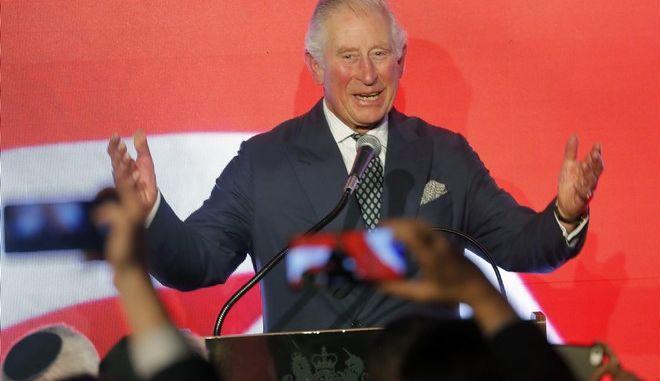 Ο διάδοχος του Βρετανικού θρόνου πρίγκιπας Κάρολος