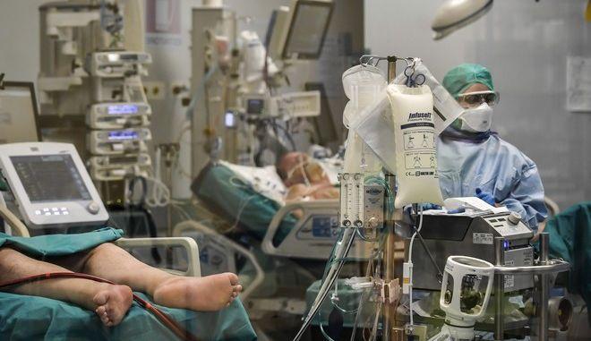 Εσωτερικό νοσοκομείου στην Ιταλία