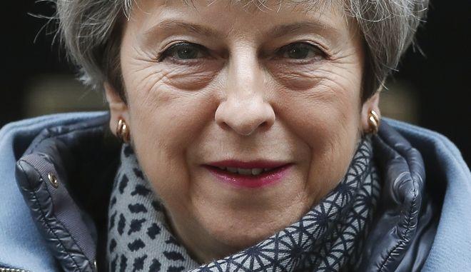 Η πρωθυπουργός της Μ.Βρετανίας, Τερέζα Μέι