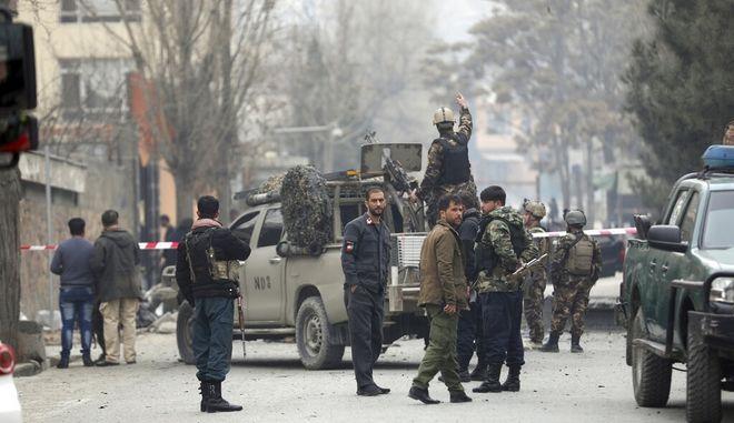 Έκρηξη στο Αφγανιστάν. Φωτο αρχείου.