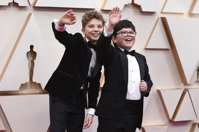Οι μικροί Roman Griffin Davis και Archie Yates στα Όσκαρ 2020