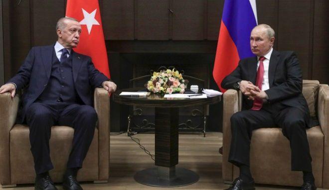 Συνάντηση Πούτιν-Ερντογάν