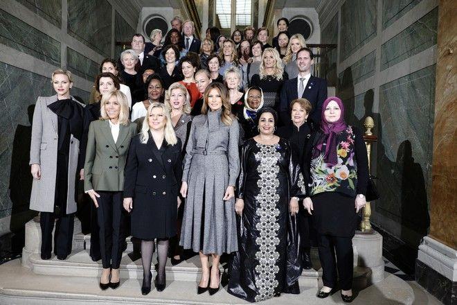 Οι σύζυγοι των ηγετών