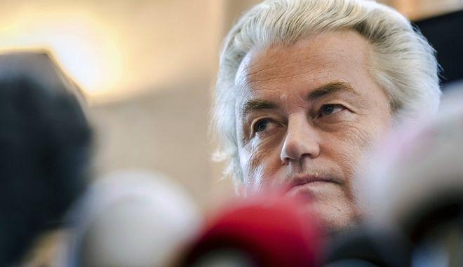 Ο Ολλανδός ακροδεξιός βουλευτής Γκέερτ Βίλντερς