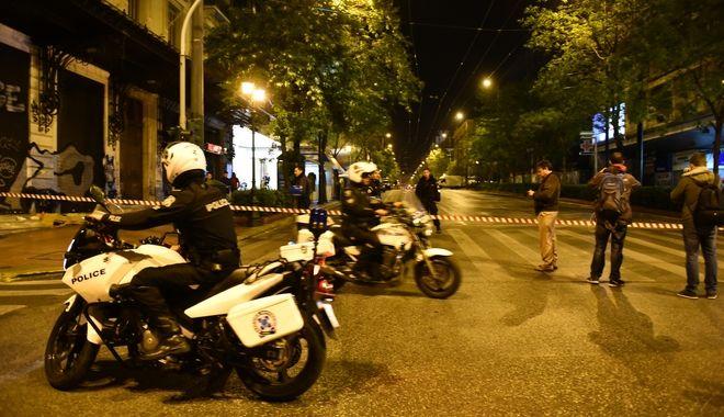 ΑΘΗΝΑ-Βόμβα εξερράγη στην είσοδο των γραφείων της Eurobank στην οδό Σανταρόζα 7, μεταξύ Πανεπιστημίου και Σταδίου.(Eurokinissi-ΜΠΟΛΑΡΗ ΤΑΤΙΑΝΑ )