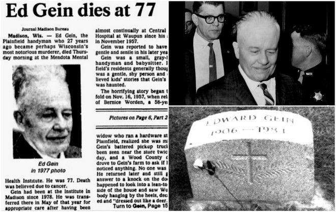 Ed Gein: Ο κατά συρροή δολοφόνος που έφτιαχνε αντικείμενα από ανθρώπινα μέλη