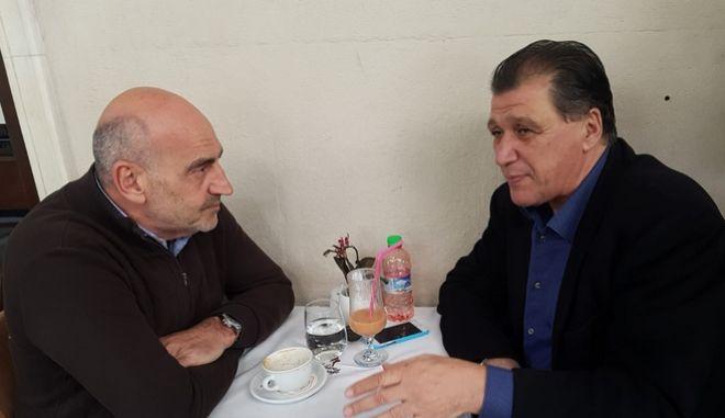 Συνάντηση Βουλγαράκη- Ορφανού- Αντώναρου