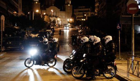 Δυνάμεις της Αστυνομίας στην Πλατεία της Ν.Σμύρνης