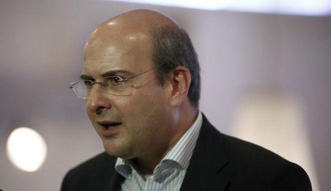 Ο αντιπροέδρος της ΝΔ, Κωστής Χατζηδάκης