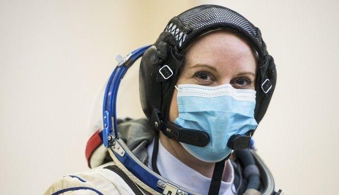 Η αστροναύτης Κέιτ Ρούμπινς